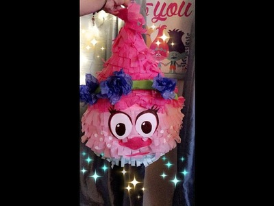 How to make Poppy Piñata ( Part 1)