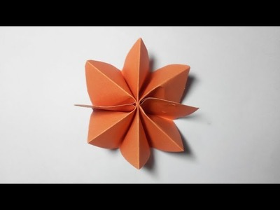 How to Make Simple & Easy Paper Flower (8) | Room Decoration | DIY Paper Craft Ideas #52