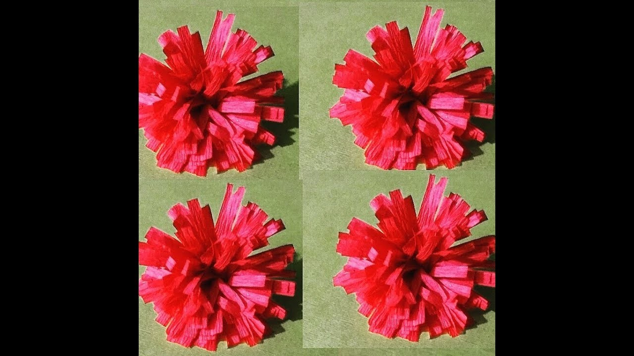 How To Make Simple Paper Flowers Paper Flowers Makingflower Made