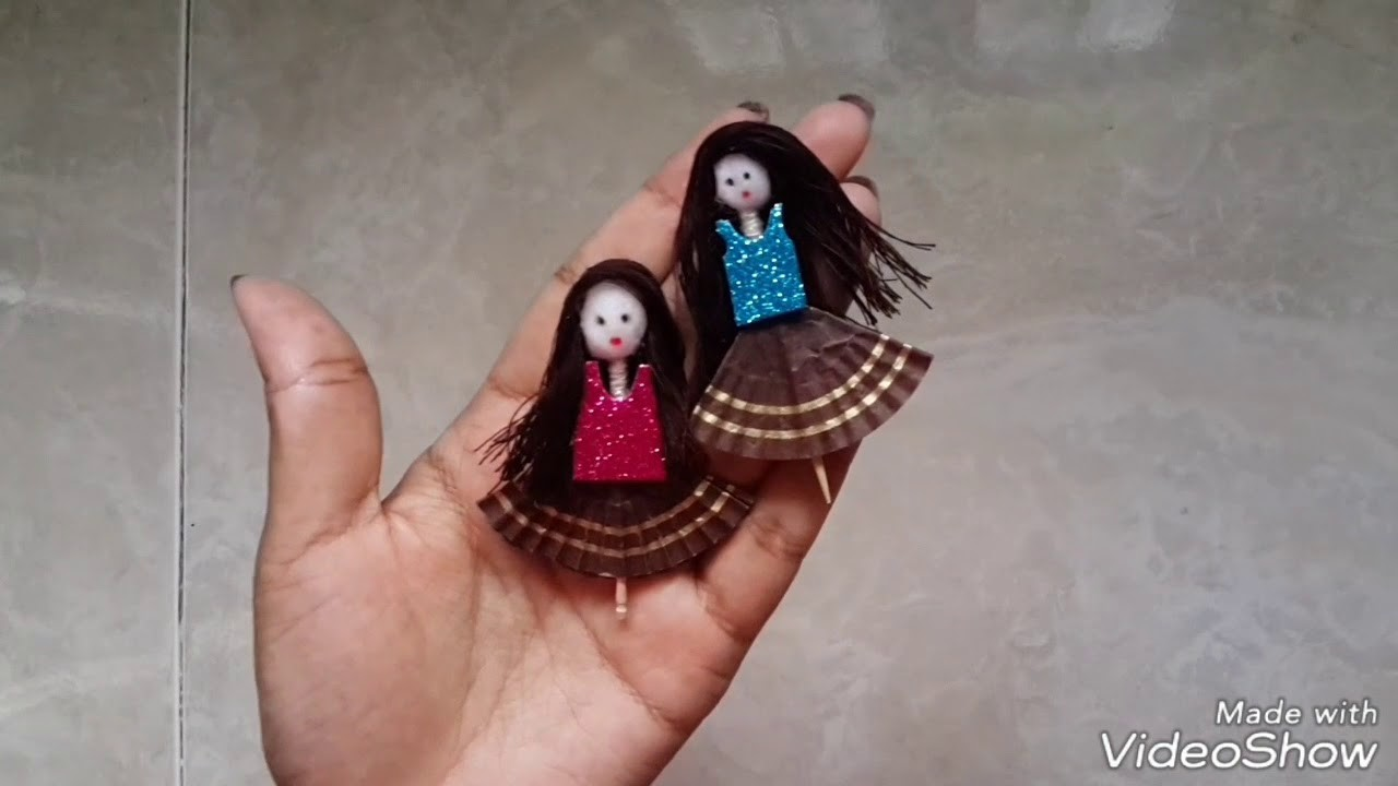 How to make toothpick doll very easily