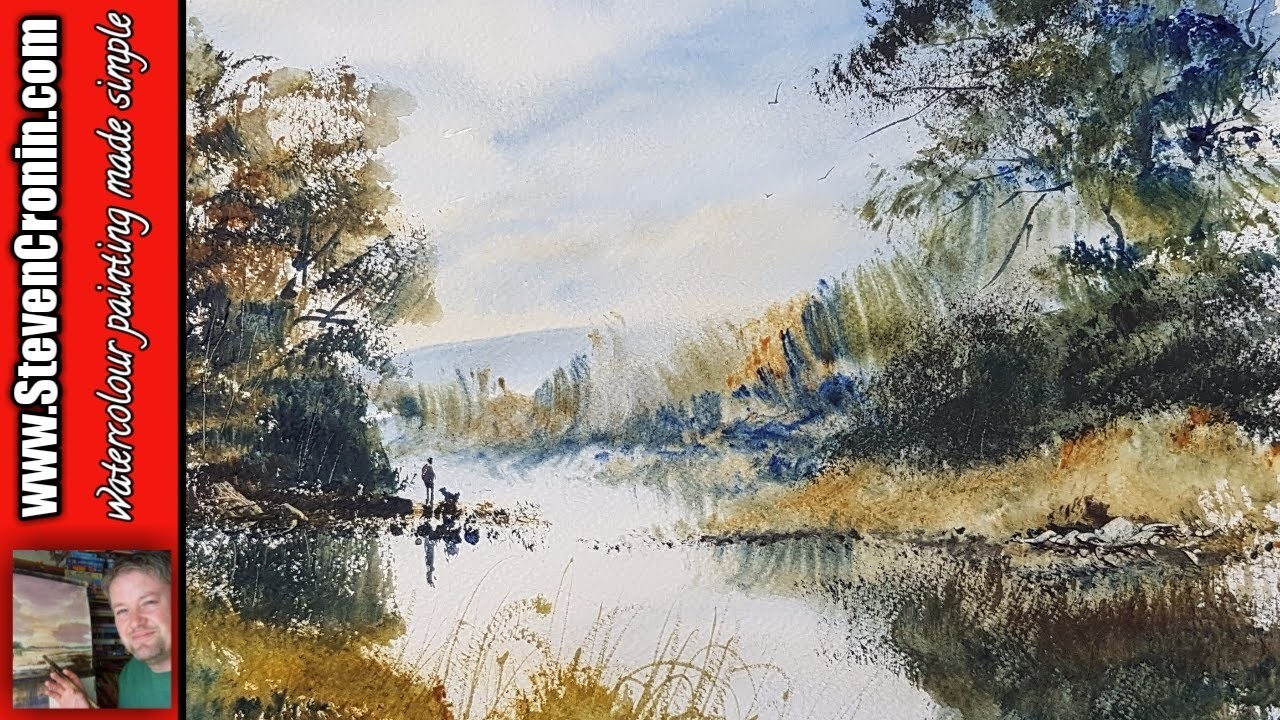 How To Paint a Watercolour From a Photograph