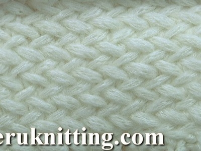 Knitted 3D Stitch Pattern Tutorial 32
