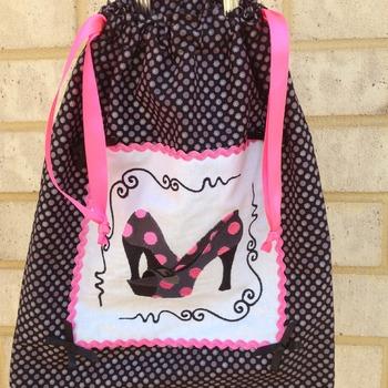 Ladies travle shoe bag