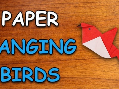 Learn How To Make Hanging Birds Using Paper | Origami For Kids | Periwinkle