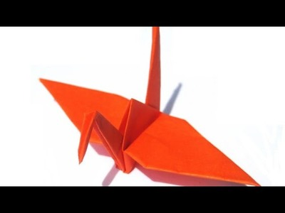 Origami Crane How To Make Flapping Birdsorigami