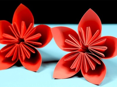 Flower how to make rose paper flower easy origami flowers for origami kusudama flower how to make a kusudama paper mightylinksfo