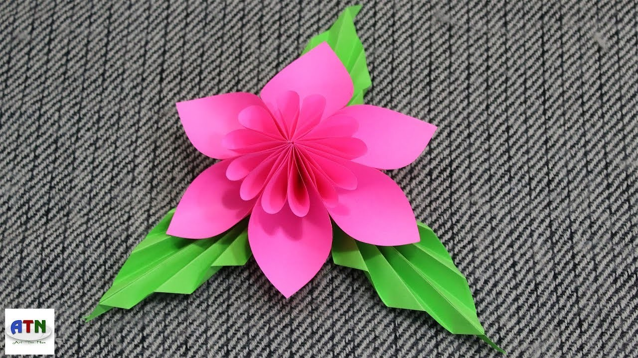 How To Make An Origami Kusudama Flower Step By Step Flowers Healthy