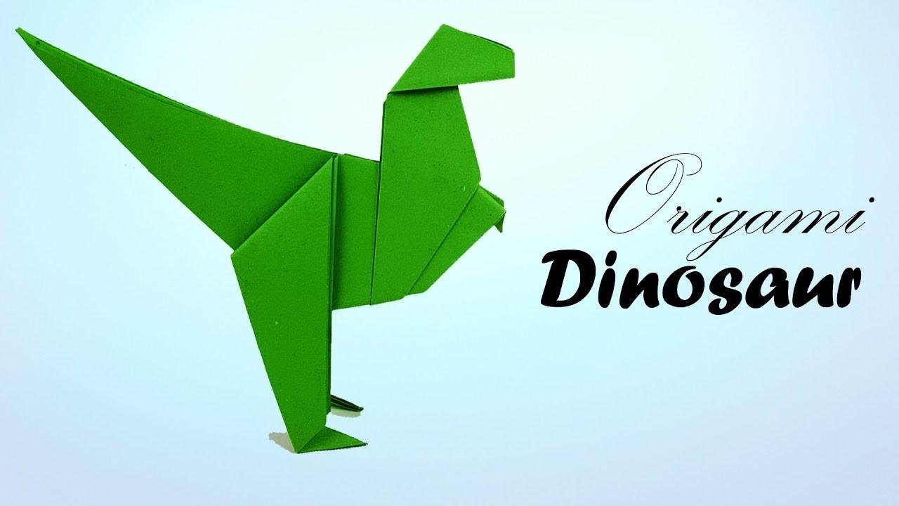 Origami Paper Dinosaur Dino