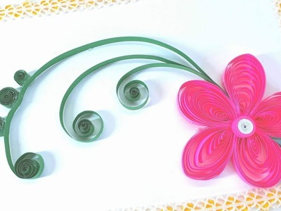 Surprising Quilling Paper Quilling Greeting Cards Flower Hand Works Personalised Birthday Cards Cominlily Jamesorg