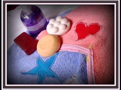 Turbante de Toalla para baño. How to make hair towel