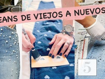 5 ideas DIY para renovar tus jeans | TENDENCIAS 2017 | RACHZX ????✨