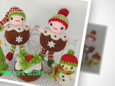 90 christmas decoration crochet patterns - crochet christmas tree gifts cute crochet patterns 2017
