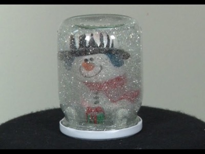 Art Lesson: How to Make a Snow Globe