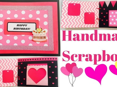 Cute Scrapbook | Handmade Scrapbook | Handmade Scrapbook For Best Friend | DIY Scrapbook