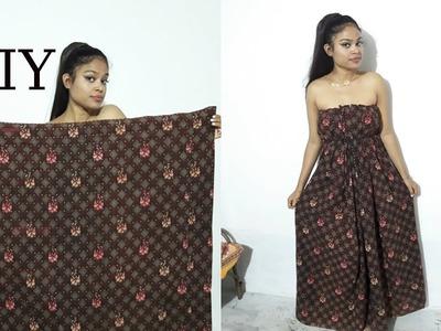 DIY : 1 Min Dress ( NO SEW )