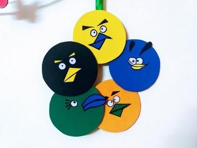 DIY - Angry Birds Room Decor ( Super easy ) Using cardboard