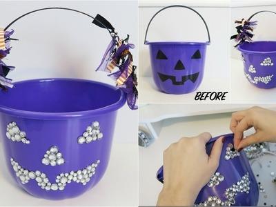 DIY EASY Halloween Treat Bucket for Kids