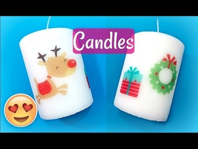 DIY GIFTS AND SELLS DECORATED CANDLES