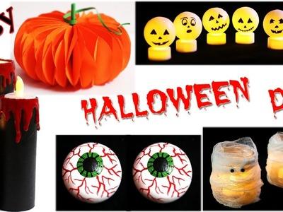 DIY Halloween Decorations   5 Easy Halloween Crafts   Little Crafties