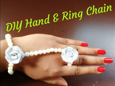 DIY HAND & RING CHAIN BRACELET.S.A.GALLERY.