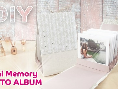 DIY Mini Memory Photo Album
