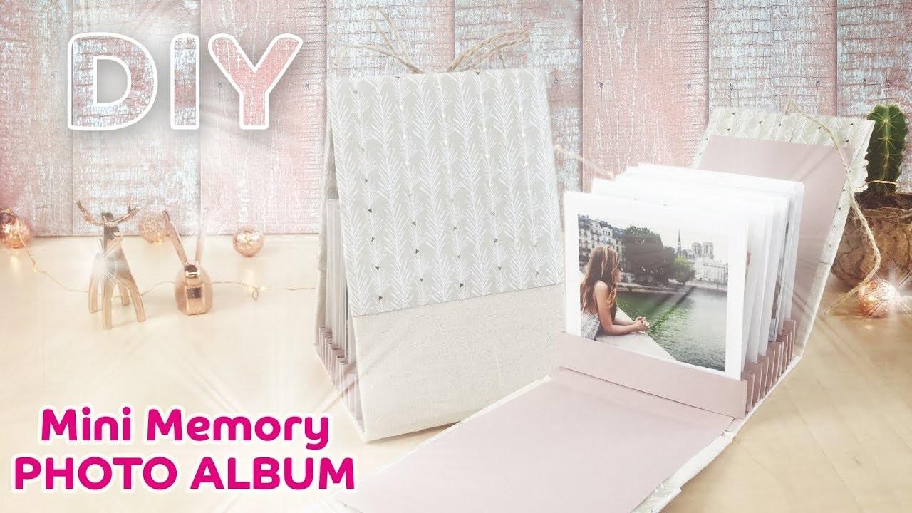 DIY Mini Memory Photo Album