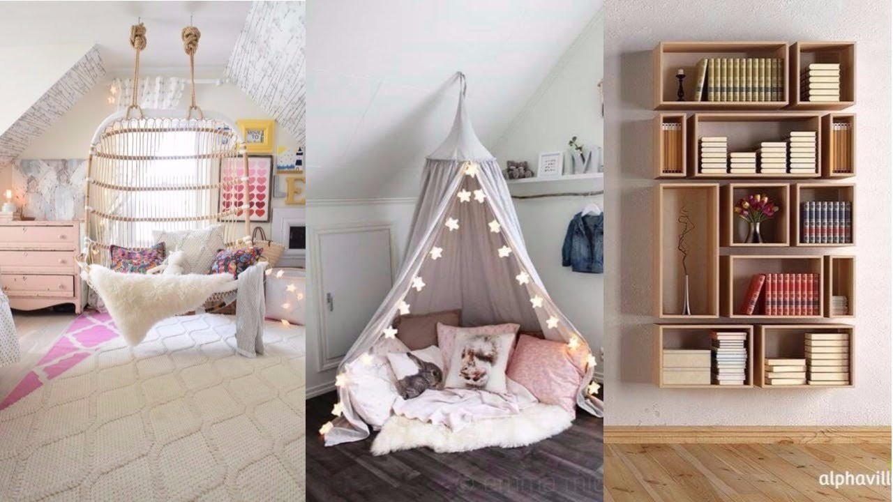 DIY ROOM DECOR! 14 Easy Crafts Ideas at Home for Teenagers ...