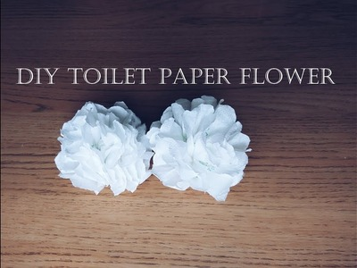 DIY Toilet Paper Flower