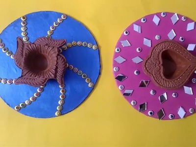 Diya plate decoration.Diwali Special. DIY & Making THE FIRST GIRLS DIY HOMEMADE SLIME!!! THE FIRST GIRLS DIY ...
