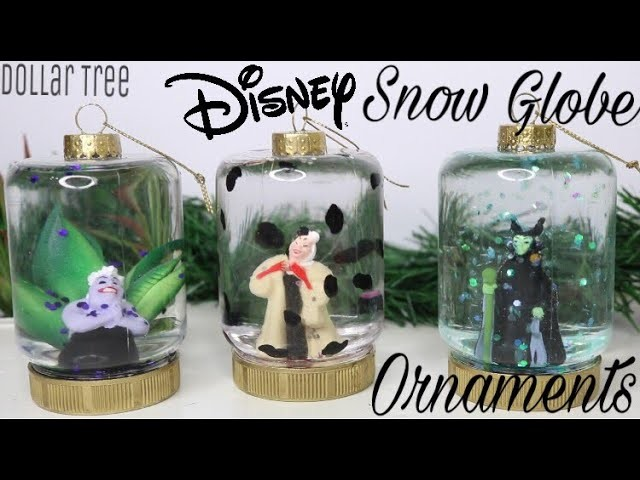 Dollar Tree Diy Disney Snow Globe Ornaments