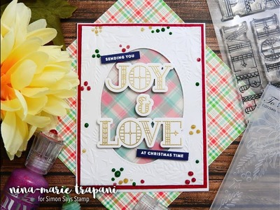 Dry Embossing with Bazzill Plastic Paper | Studio Monday with Nina Marie