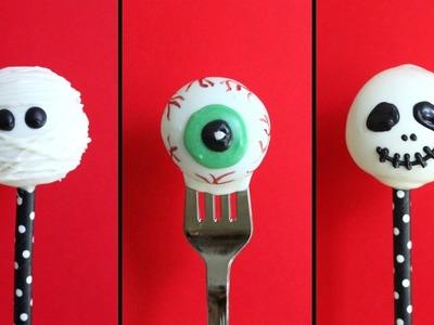 Halloween Cake Pops - 3 ways
