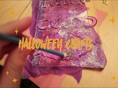 Halloween Crafts! DIY Spellbooks
