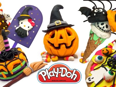Halloween Diy. Compilation of Halloween Crafts for Kids. Play Doh, Clay, Dough Videos