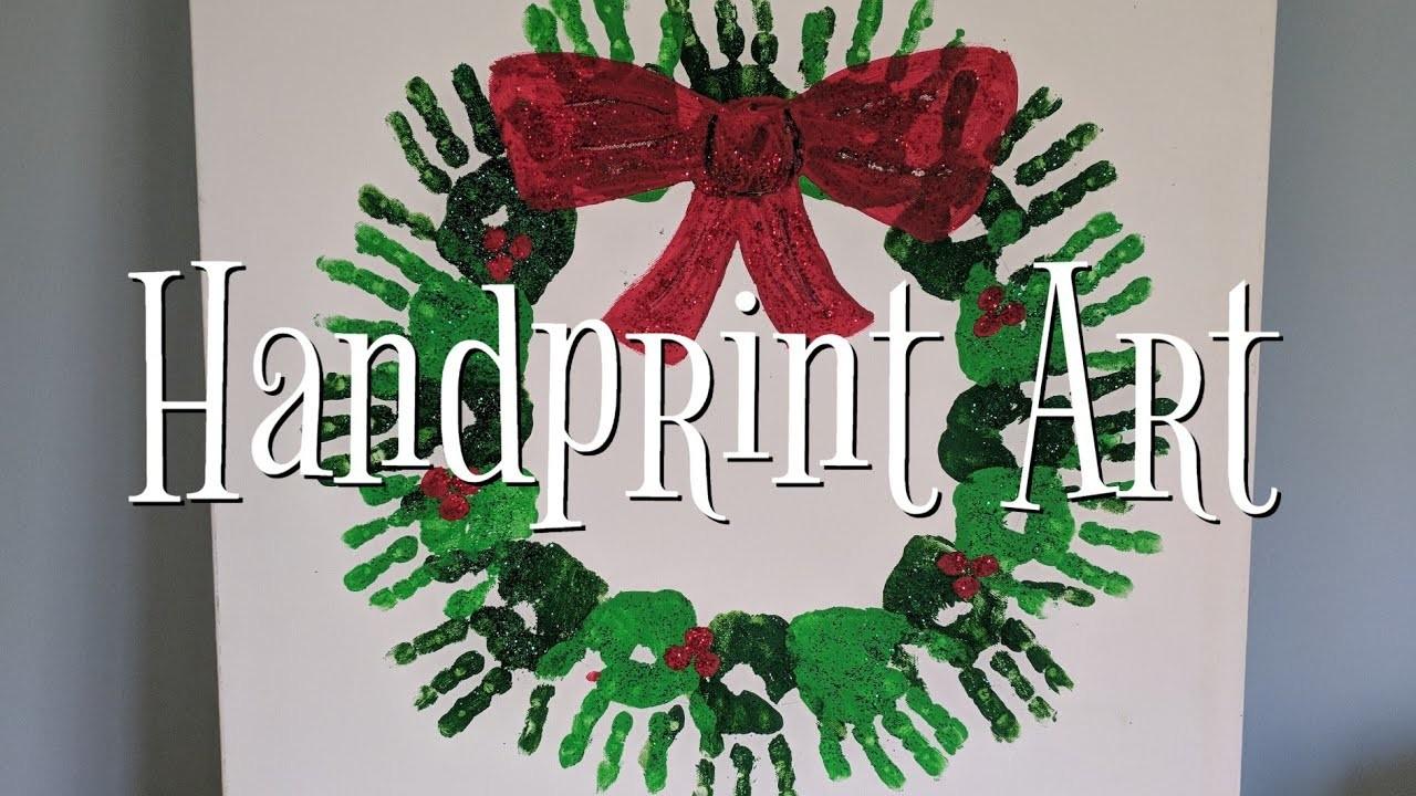 Handprint Art DIY project ideas for Kids