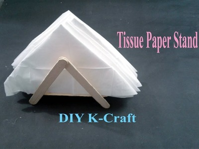 How to make a nice Tissue Paper Holder | DIY K Craft