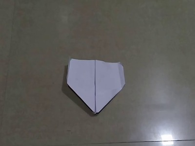 How to make a simple paper rocket which flows very far