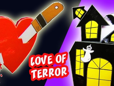 LOVE OF TERROR CARD - IDEA GIFT OF LOVE | aPasos Crafts DIY