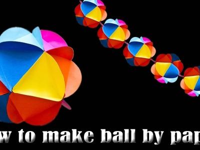 Mini Magic Ball Origami How to make Paper Ball to easy | how to make ball by paper
