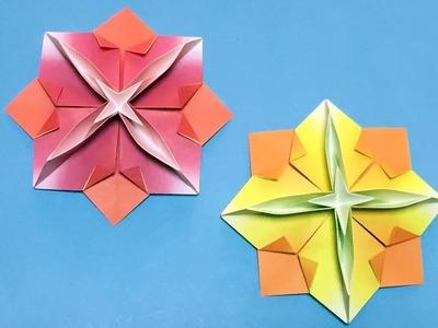 Ideas origami flower tutorials step by step with only one piece of origami flower tutorials step by step with only one piece of mightylinksfo