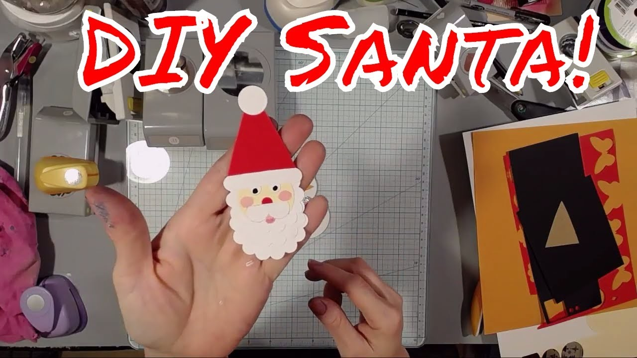 Paper Punch Snowman and Santa! Great for Cards!
