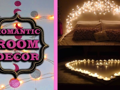 Romantic Room Decor DIY | Bedroom decoration Ideas #home decoration #latest crafts