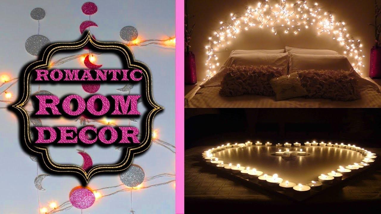 Romantic Room Decor DIY | Bedroom decoration Ideas #home decoration #latest crafts
