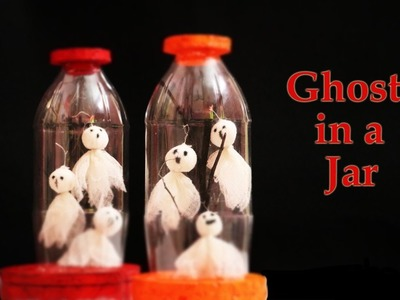 Spooky DIY Halloween Decorations | Ghosts in a Jar
