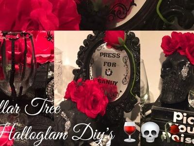 3 Dollar Tree HalloGlam Diy's. Halloween Decor Ideas????????????