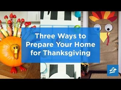 3 Festive DIY Thanksgiving Decorations