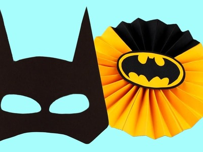 5 Diy Batman Party Decoration Accessories