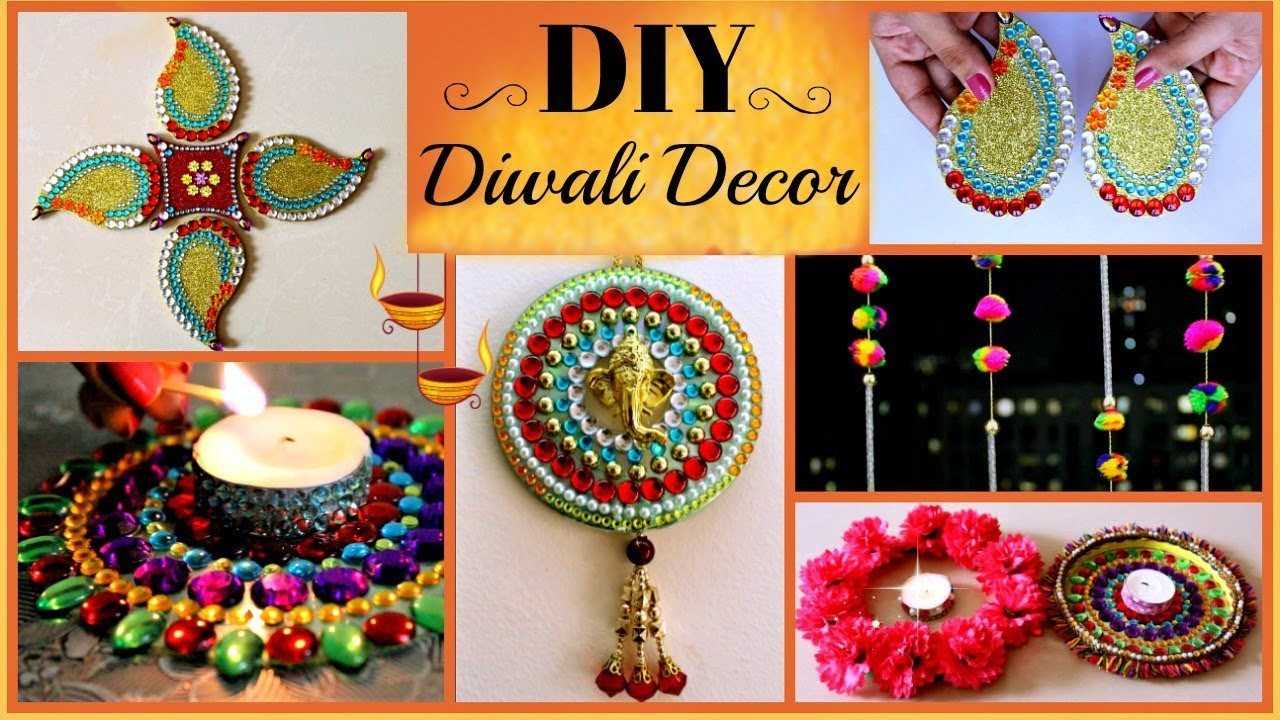 9 Creative Diy Room Decorations: 5 DIY- Diwali Decoration Ideas (Easy And Creative) Best