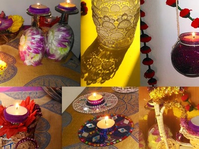 9 DIY IDEAS for DIWALI DECORATION  (Easy & Awesome)