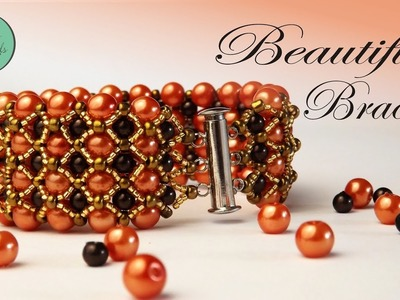 BEAUTIFUL BRACELET - BEADING TUTORIAL
